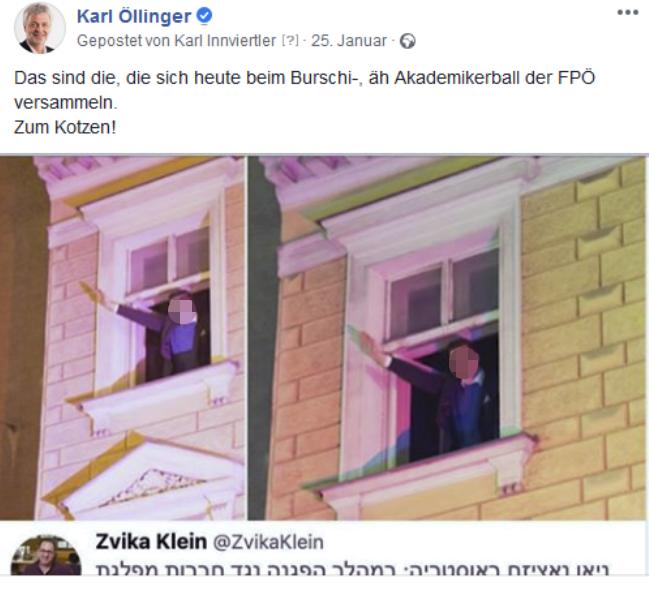 FB-Posting von Karl Öllinger