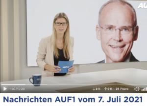 """AUF1: Wenko präsentiert Marcus Franz als """"Spitzenmediziner"""""""