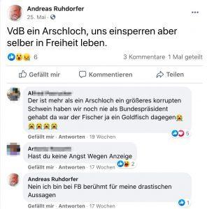 Andreas Ruhdorfer über VDB - samt Like für ersten Kommentar (von A.P.)