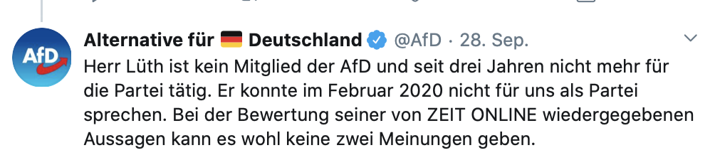 AfD betreibt auf Twitter Kindesweglegung