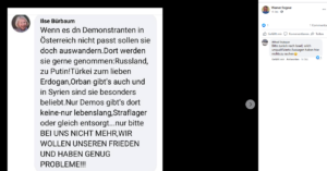 """Stubauer kommentiert bei Rogner: """"Bitte zurück nach Israel ..."""""""