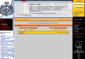 Website Allemannia Graz 2003