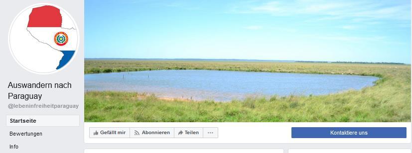 Annaus Kolonie in Paraguay auf FB