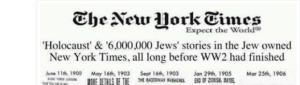 Antisemitische Verschwörung: Holocaust als Predictive Programming