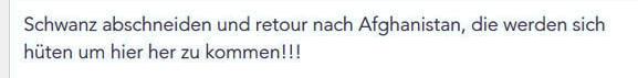 Armin H. hetzt auf Facebook - Quelle: dietiwag.org