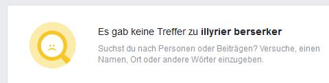 """""""Illyrier Berserker"""" auf FB abgetaucht"""