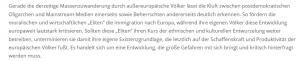 """Aus der Grundsatzerklärung der """"Verteidiger Europas"""""""