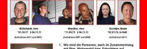 So fahndete man - mit reichlich Verzögerung - seitens des deutschen BKA irgendwann gegen die Neonazis vom NSU - Bildquelle: BKA.de (www.endstation-rechts.de)