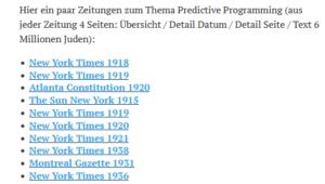 Belsky empfiehlt: Predictive Programming zu 6 Millionen jüdische Opfer (Screenshot Blog coronadatencheck)