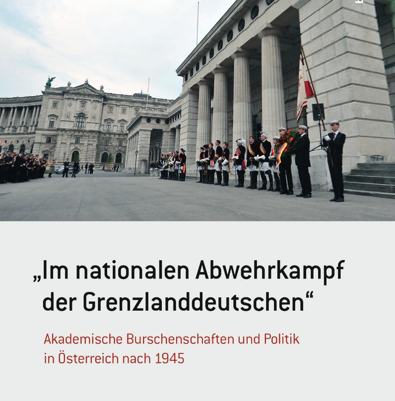 Cover Bernhard Weidinger, Im nationalen Abwehrkampf der Grenzlanddeutschen (Böhlau, 2015), zum Download