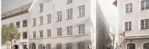 """Neugestaltung Hitler-Haus Braunau. Entwurf """"Marte.Marte"""""""