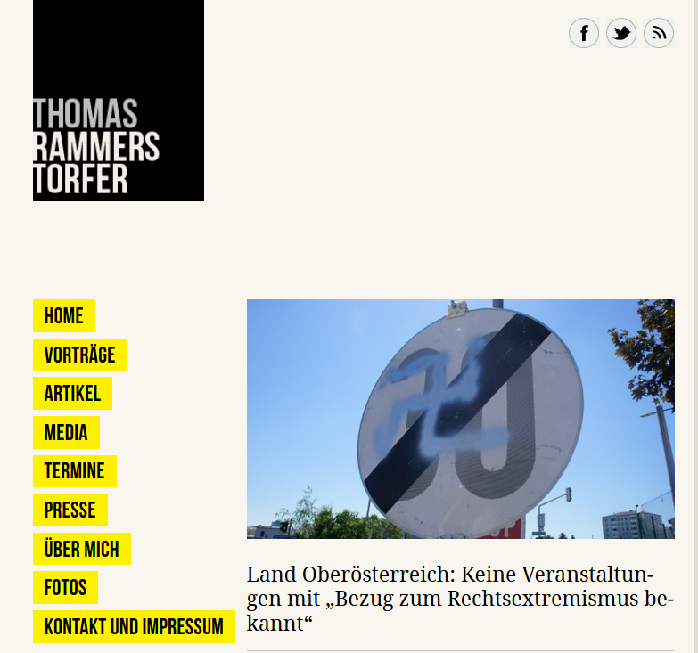 Blog Thomas Rammerstorfer