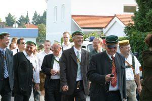 Podgorschek, Küssel, Magnet, Budin beim Palm-Gedenken 2006 Braunau