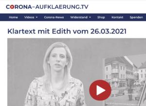 Corona-Aufklärung.TV mit Edith Brötzner