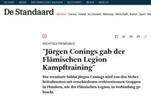 """Conings: """"Vlaams Legioen"""""""