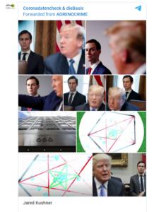 """Belskys Telegram-Kanal """"Coronadatencheck"""" teilt von """"Adrenocrime"""""""