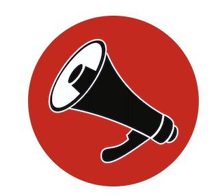 """Logo """"Die Stimme"""" (Ripfl)"""