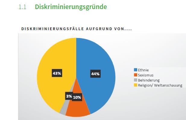 Diskriminierungsfälle IDB 2019