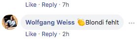 """""""Blondi fehlt"""" zum Eiernockerl-Posting"""