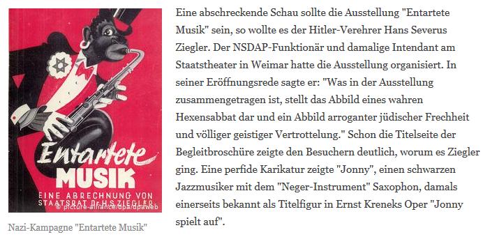 """""""Entartete Musik"""""""