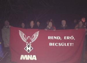 Europäische Aktion in Budapest bei der MNA