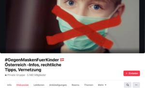 """FB-Grupppe """"GegenMaskenFuerKinder"""""""