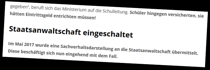 """Der """"Wochenblick"""" weiß zu berichten, womit die Staatsanwaltschaft Linz sich """"eingehend beschäftigt""""."""