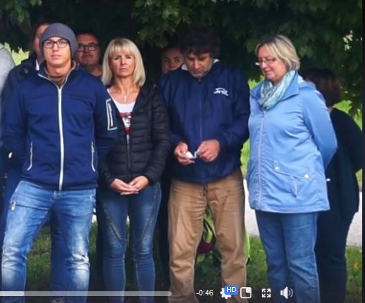 Wahlkampfvideo 2017 der FPÖ Sierning: Text vergessen?