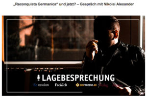 Freilich-Podcast mit Nikolai Alexander