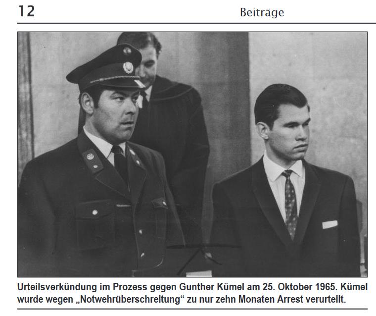 Günther Kümel 1965