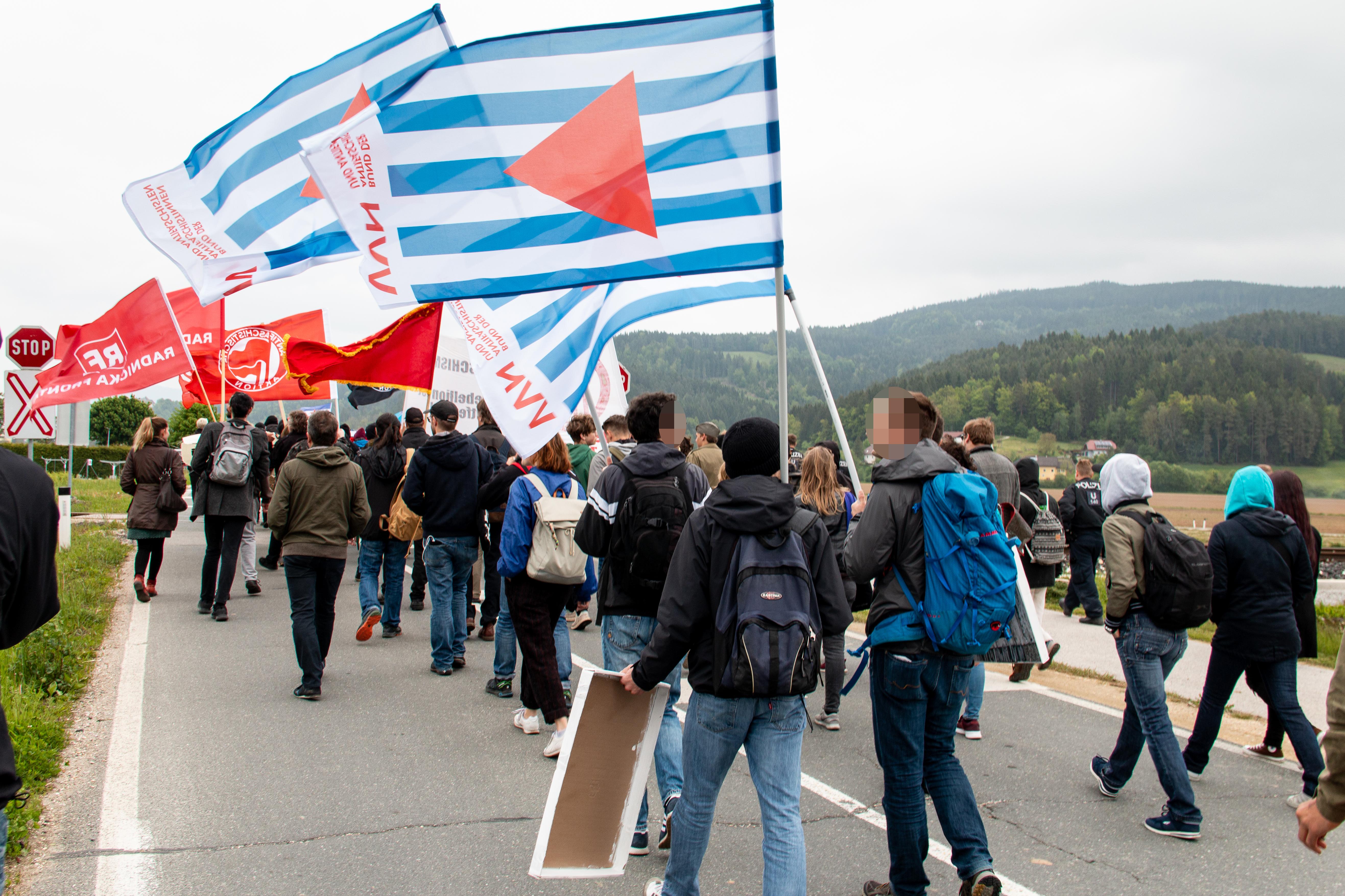 Gegenkundgebung 2019 (Foto © Günter Krammer)
