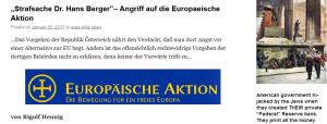 Rigolf Hennig beklagt Vorgehen gegen EA