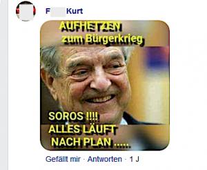 """Antisemitismus bei Gudenus: Soros hetzt zum Bürgerkrieg auf – """"Alles läuft nach Plan....."""""""