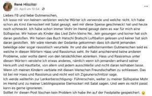 """Kettenposting an FB und """"Gutmenschen"""""""