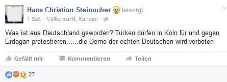 """""""die Demo der chten Deutschen wird verboten"""""""