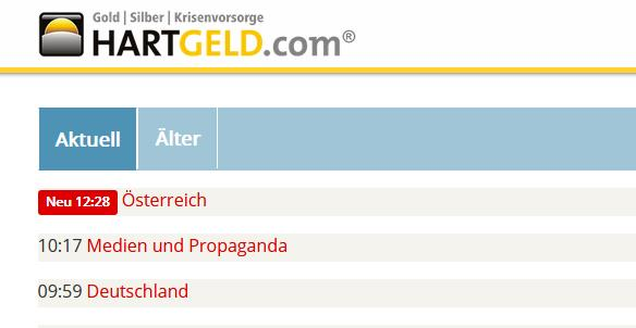 Website Hartgeld.com