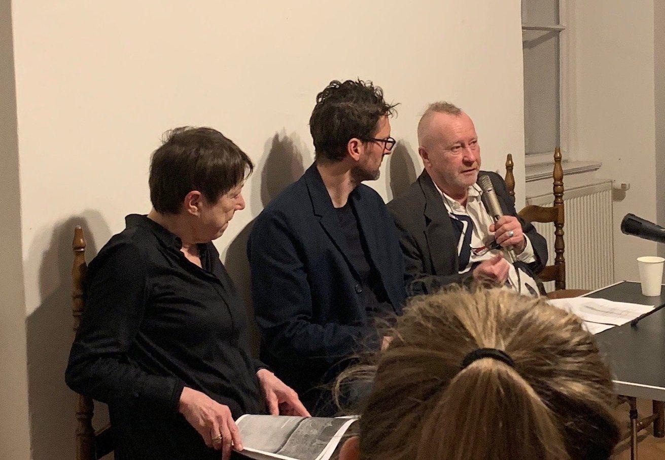 Podium mit Heimann-Jelinek, Spitaler, Manoschek