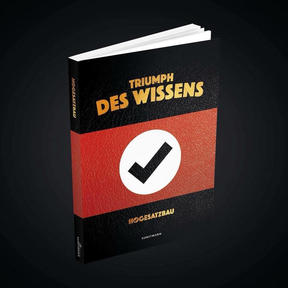 Hogesatzbau: Triumph des Wissens (Buchcover)