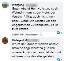 """Wolfgang R. und Hildegard M. bei Norbert Hofer """"...es ist zum kotzen"""" """"Wo ist der Moor"""""""