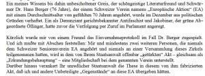 Gerd Honsik über die EA