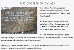 """""""Hygienediktatur"""": Statement zum Foto vor dem Hitlerhaus"""