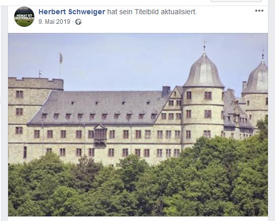 Jürgen alias Herbert Schweiger Fan der SS-Wewelsburg