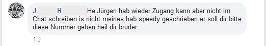 "J.H. zu Jürgen W.: ""He Jürgen ..."""