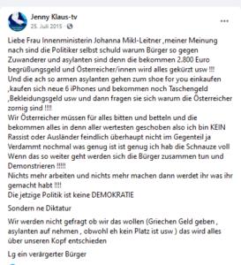 """Klauninger und die Flüchtlinge (2015): Lügen über """"Begrüßungsgeld"""", """"iPhone"""" etc."""
