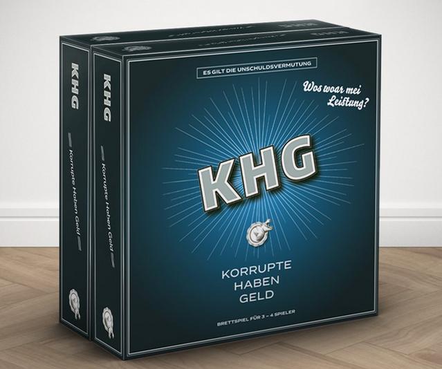 Das Spiel: KHG – Korrupte haben Geld