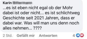 """Karin B. """"Mohr Geschichte seit 2021 Jahren"""""""