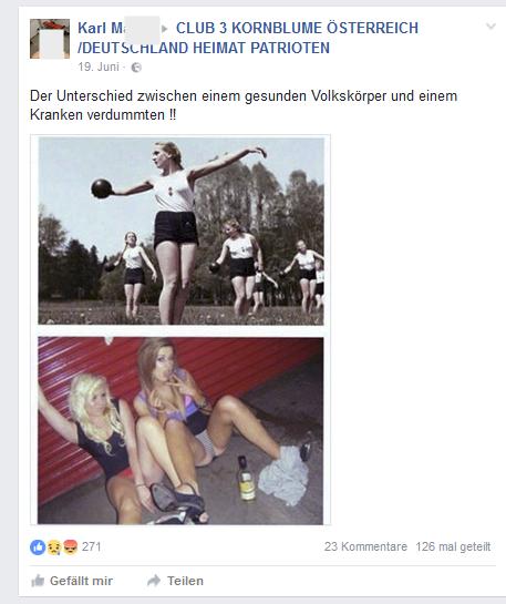 """Karl M. und der """"gesunde Volkskörper"""""""