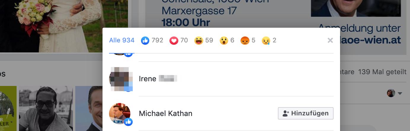 Like für Strache/DAÖ: Michael Kathan