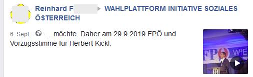 Kickl-Hardcore-Fan Reinhard F.