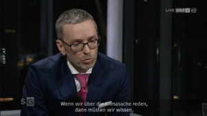 """Herbert Kickl im ORF-Sommergespräch 2021: """"über die Klimasache reden"""""""